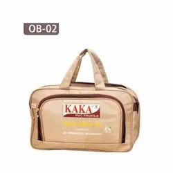Printed Leather Polyester Office Bag