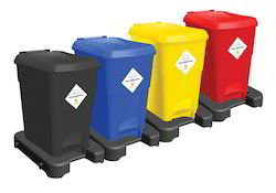 Color Coded Waste Segregation System