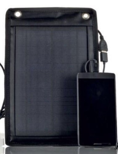 Black Sunlast Solar Mobile Charger
