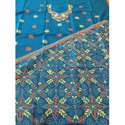 Silk Embroidered Kurta Material