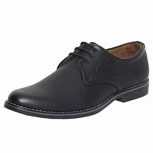 Lace Up Black Mens Formal Shoes, Rs 699