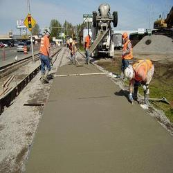 Concrete Road Construction Services