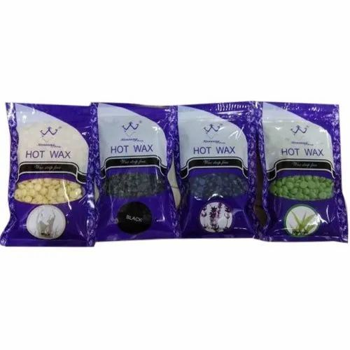 Hot Wax Hair Removal Bean Granulated Packaging Size 50 G Rs 55