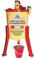 Parking Tiles Lacquer Polish Making Machine