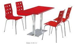 Restaurant Red Chair and Table
