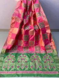 9aacd8751e8d3 Banasari Handloom Weaving Silk Saree With Rich Contrast Pallu