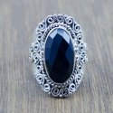 925 Sterling Silver Jewelry Lapis Lazuli Gemstone Fancy Ring