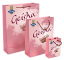 Pink Paper Printed Bags, Capacity: 2 And 5kg
