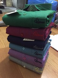 Casual Collar Neck Mens Designer Shirt