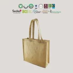 Manufacturer India Recycle Cotton Jute Bag