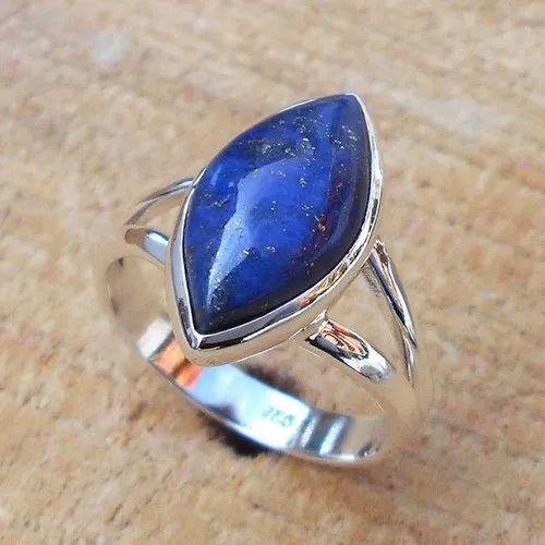 Lapis Lazuli - Sterling Silver Ring