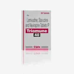 Lamivudine Stavudine & Nevirapine Tablet