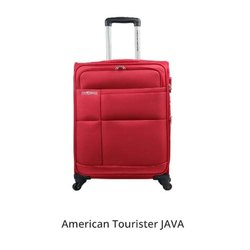 American Tourister Red Java Trolley Bags, For Travelling