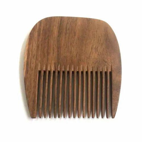 U Shaped Neem Wooden Comb