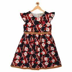 Sambu Baby Girl's Midi/Knee Length Casual Dress