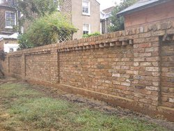 Bricks Compound Wall, Thickness: 10 Inch, Size: 12 X 12 X9