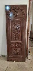 Exterior Hinged Carved Wood Doors