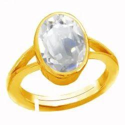 Sphatik Ring Asthdhatu Gemstone