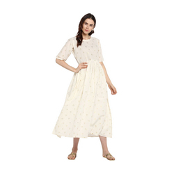 Ladies White Kurti