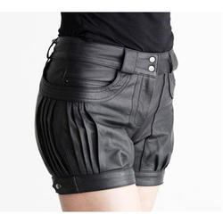 Ladies Leather Short