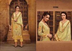 Cotton Printed Palazzo Salwar Suit