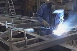 Industrial Services - Aluminium Fabrication Job Work