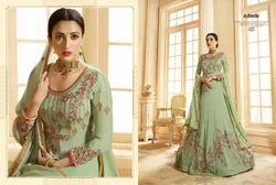 Embroidery  Anarkali Dress