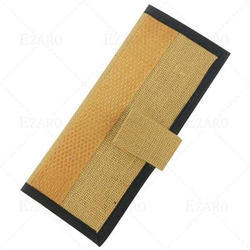 Brown Jute Wallet