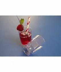 Transparent Stand Wine Glass, Size: 150 mL