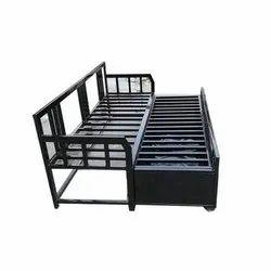 M R Steel Sofa Cum Bed