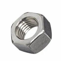 SS Hexagonal Hex Nut, Size: M 16