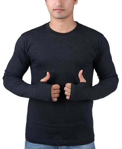 Thumb hole long sleeve shirts