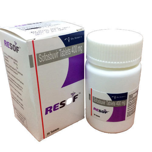 Resof 400 Mg Sofosbuvir, Packaging Size: 1 X 28 Tablets