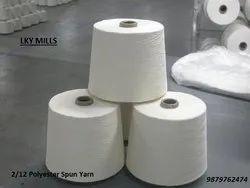 Polyester Yarn 2/12 Psy Wt 12/2