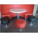 Ergomaxx White And Red And Black Indoor Restaurant Furniture