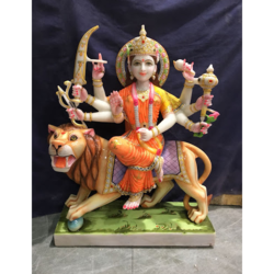 Eight Armed Durga Statue