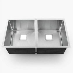 Matte Finish Double Bowl handmade Stainless Steel Sink