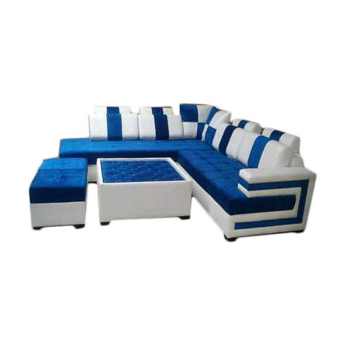 Sofa Centre Table: L Shape Sofa Set With Center Table, L Shape Couch, एल शेप