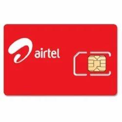 Airtel Postpaid Sim Card With Fancy Number - Airtel 4G Net