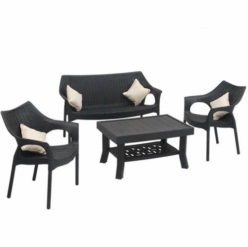 Plastic Supreme Love Seat With Vegas And Cambridge Wenge Sofa Set Rs 9000 Set Id 19265013112