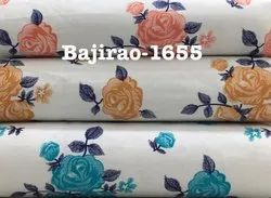 Cotton Satin Printed Fabric