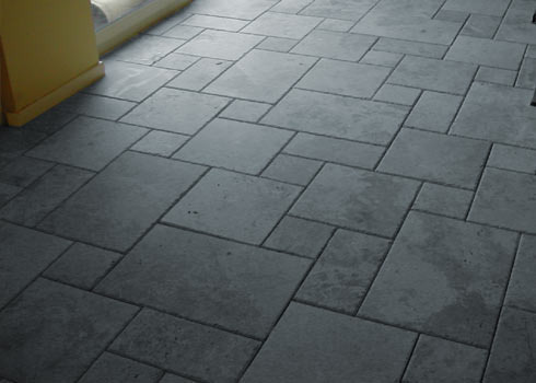 Residential Building Concrete Floor Tiles Installation Service, Rs ...