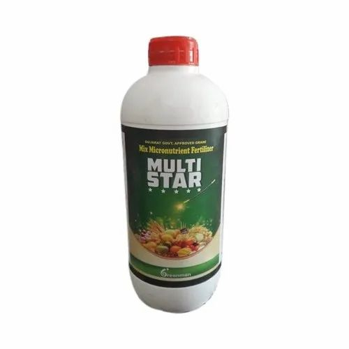 Greenman 99% Mix Micronutrient Fertilizers, Packaging Type: Bottle, For Agricultural