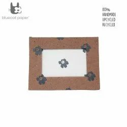 Photo frame - coffee brown and white