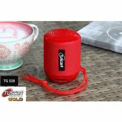 Tuscan Red TG528 Portable Bluetooth Speaker, Size: Large