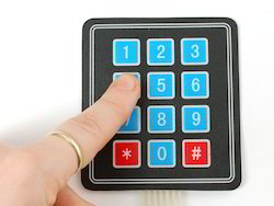 Medical Equipments Membrane Keypad