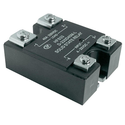 Black Solid State Relays