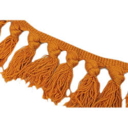 Yarn Fringe Lace