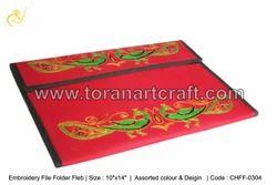 Embroidery File Folder Fleb