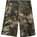 Kids Cotton Print Cargo Shorts